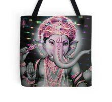 Holographic Ganesh Tote Bag