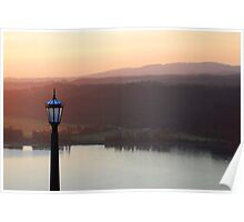Sunset at Crowne Point II Poster