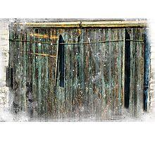 The Weathered Barn Door Photographic Print