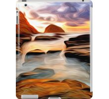 Tide Pool Oil Painting iPad Case/Skin