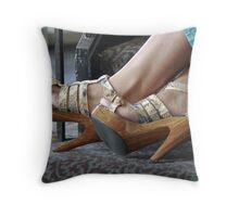 Those Shoes! Throw Pillow