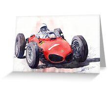 Ferrari Dino 156 F1 1961 Greeting Card