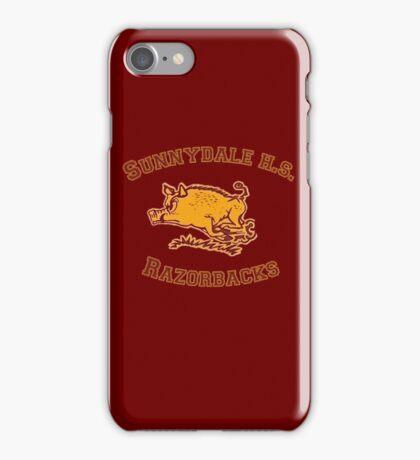 Sunnydale H.S. Razorbacks iPhone Case/Skin