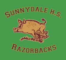 Sunnydale H.S. Razorbacks One Piece - Short Sleeve