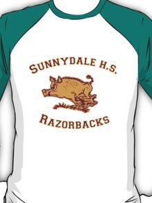 Sunnydale H.S. Razorbacks T-Shirt