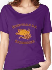 Sunnydale H.S. Razorbacks Women's Relaxed Fit T-Shirt