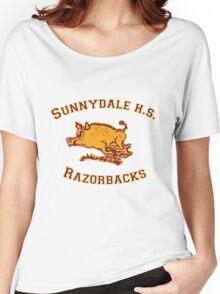 Sunnydale H.S. Razorbacks Women's Relaxed Fit T-Shirt