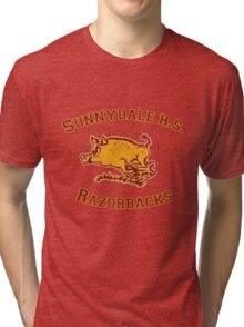 Sunnydale H.S. Razorbacks Tri-blend T-Shirt