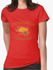 Sunnydale H.S. Razorbacks Womens Fitted T-Shirt