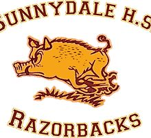 Sunnydale H.S. Razorbacks by Serdd