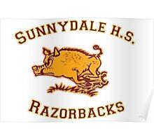 Sunnydale H.S. Razorbacks Poster