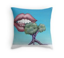 Chomp Throw Pillow