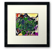 ( TAKE  A HIKE  )   ERIC WHITEMAN  ART   Framed Print