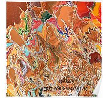 ( NAUSEA )  ERIC WHITEMAN  ART   Poster