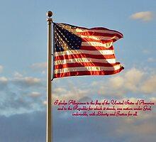 I pledge Allegiance by quiltmaker