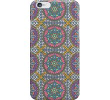 Flower Mandala Drawing iPhone Case/Skin