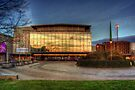Harlow Playhouse Sunset by Nigel Bangert