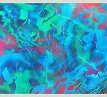 Azure's Lysergic Paint by Alien Sapiens  Sapiens