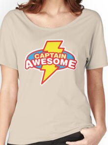 Captain Awesome Women's Relaxed Fit T-Shirt