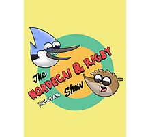 The Mordecai & Rigby Show Photographic Print