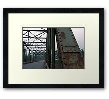Dominion Bridge Framed Print