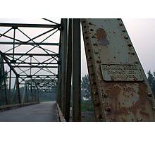 Dominion Bridge Photographic Print