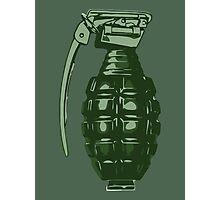 Grenade Photographic Print