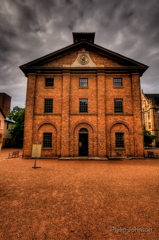 If These Walls Could Talk What Stories They Would Tell  #2 - Hyde Park Barracks, Sydney by Philip Johnson