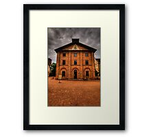 If These Walls Could Talk What Stories They Would Tell  #2 - Hyde Park Barracks, Sydney Framed Print