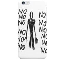 No, no, no - Slender Page nº 8 iPhone Case/Skin