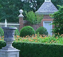 Formal Garden  by Vanessa Goodrich