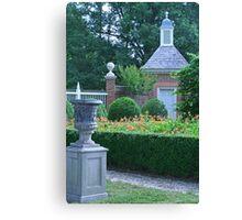 Formal Garden  Canvas Print