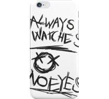 Always Watches, No Eyes - Slender Page nº 6 iPhone Case/Skin