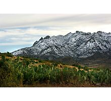 Winter in the Florida Mountains ~ New Mexico USA Photographic Print