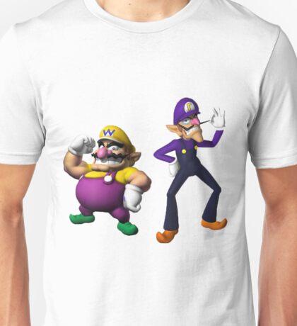 Wario and Waluigi Unisex T-Shirt