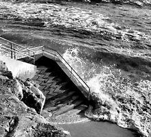 High tide by MarthaBurns
