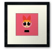 Blossom - PowerPuff Girls Framed Print