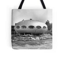 Visit to earth Tote Bag
