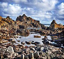 West Coast King Island by Karen Scrimes