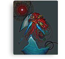 Abstract Eggshell 1 Canvas Print