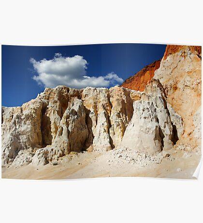 The Pinnacles at Ben Boyd National Park Poster