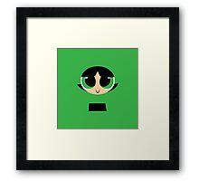 Buttercup - PowerPuff Girls Framed Print