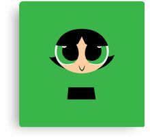 Buttercup - PowerPuff Girls Canvas Print