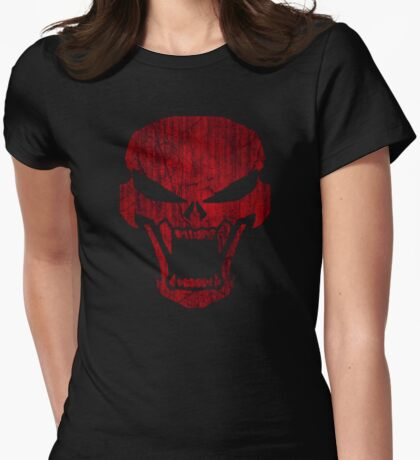 Fear The Night Womens Fitted T-Shirt