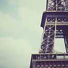 eiffel tower.  by kristinemay