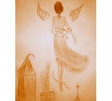 Wasteland Angel Photographic Print