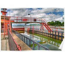 Tenney Park Locks Poster