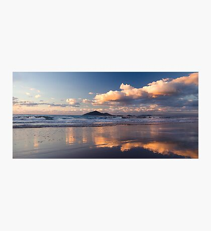 Sunrise at Mission Beach over Dunk Island Photographic Print