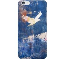 White Bird Flying Above the Clouds by Heather Holland iPhone Case/Skin