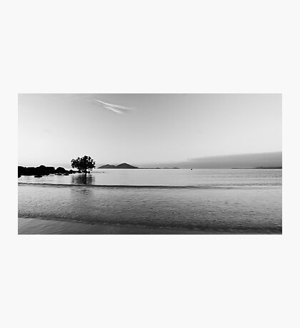 Dunk Island view , black and white Photographic Print